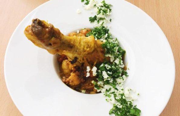 kuchnia śródziemnomorska pollo pepitoria