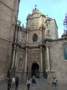 Catedral de València na placu Reina